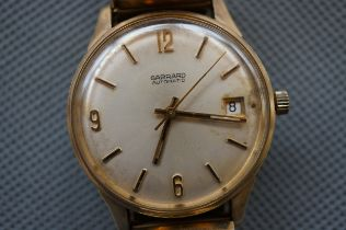 Gerrard 9ct Gold Automatic Wristwatch (Currently T