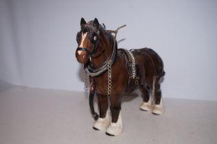 Beswick Shire Horse - 27cm h