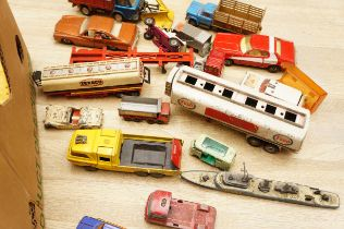 Collection of Vintage Model Vehicles, Dinky, Corgi