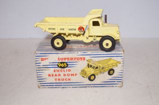Dinky 965 Euclid dump truck (Boxed)