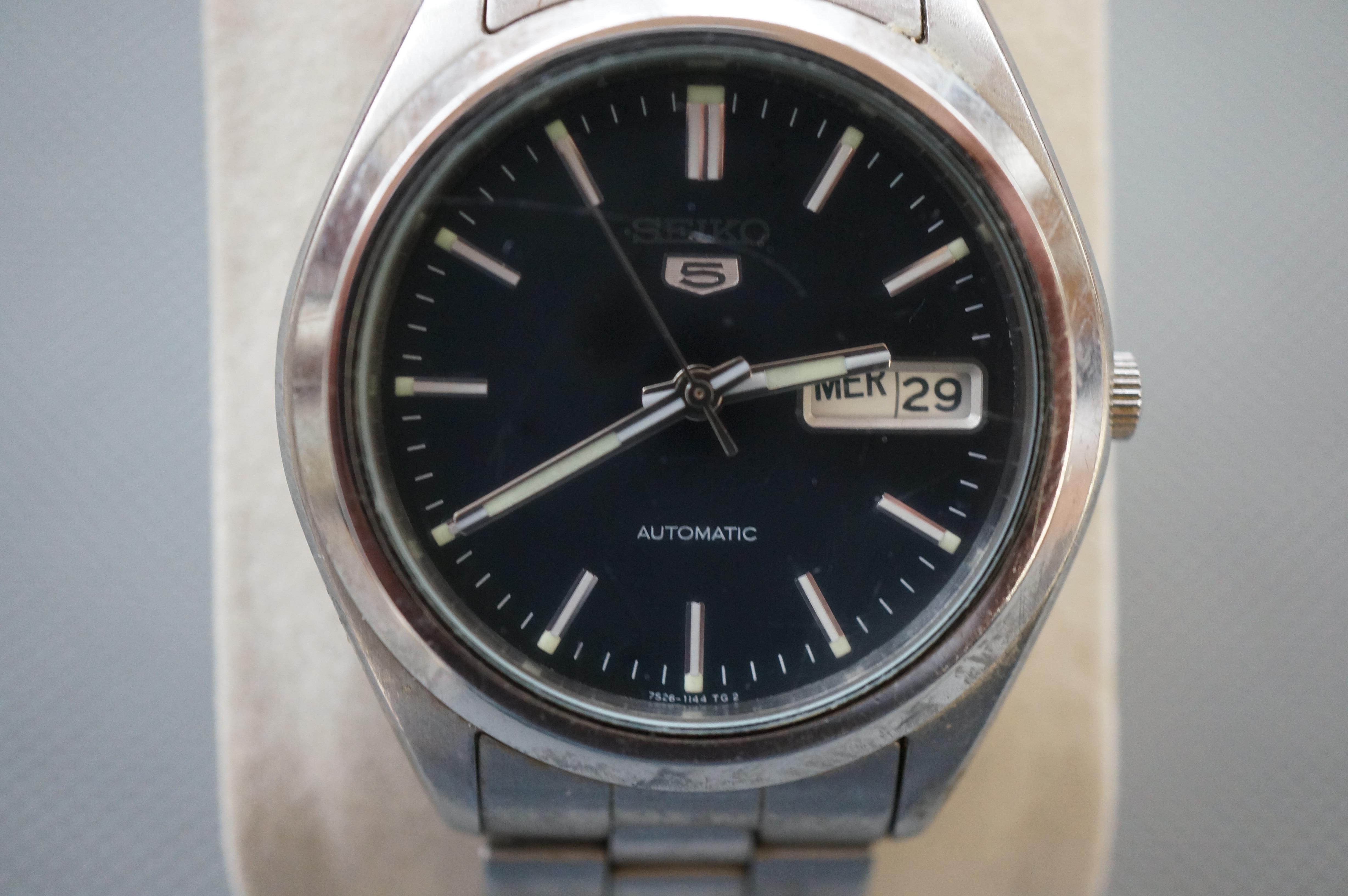 Gents Seiko Five Automatic Wristwatch (Currently T