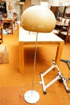 Retro Standard Lamp and Shade - 57in