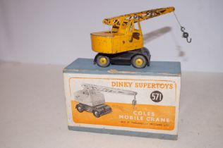 Dinky 571 Coles mobile crane (Boxed)
