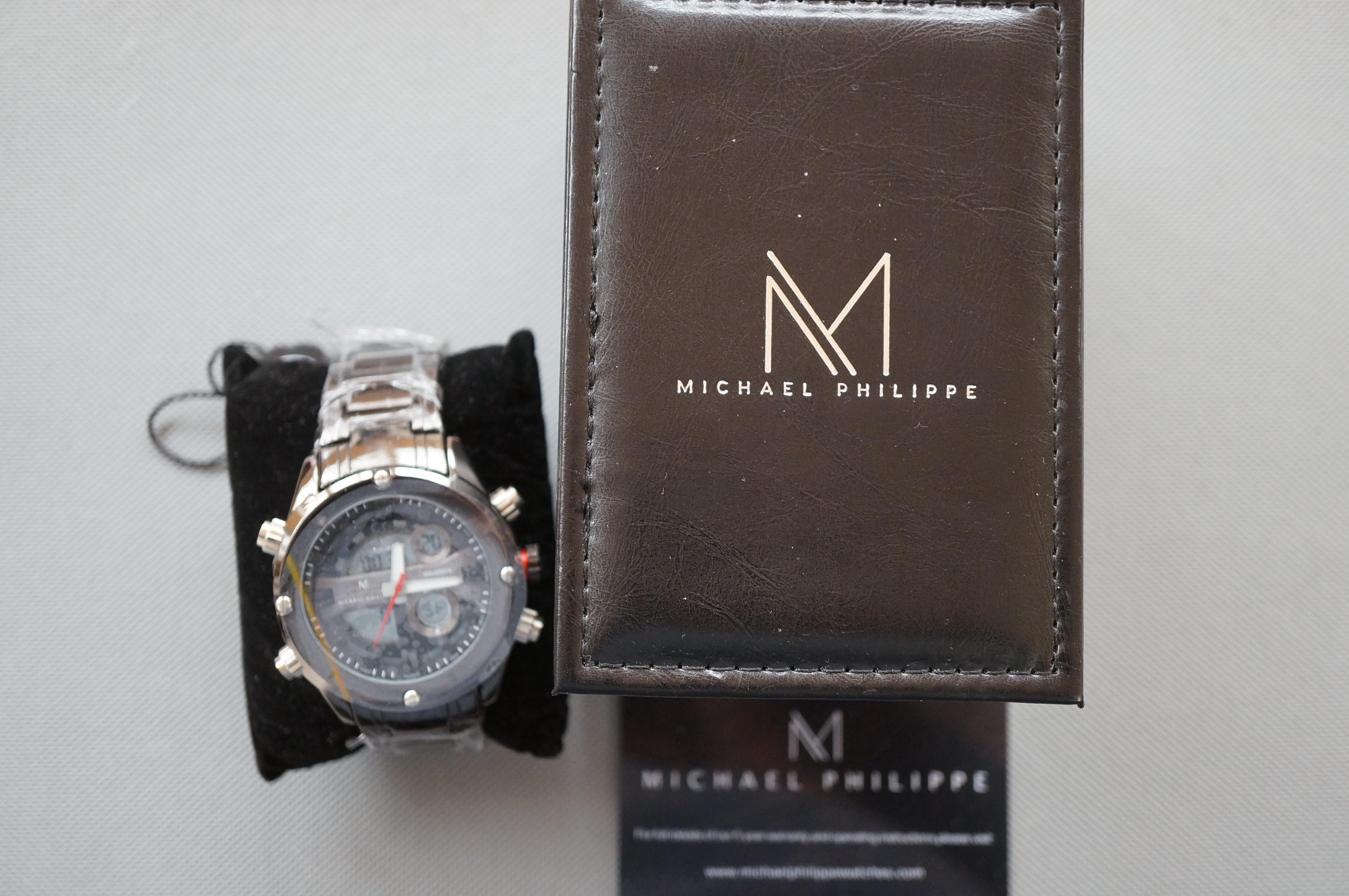Gents Michael Phillipe Wristwatch Unused with Tags - Image 2 of 2