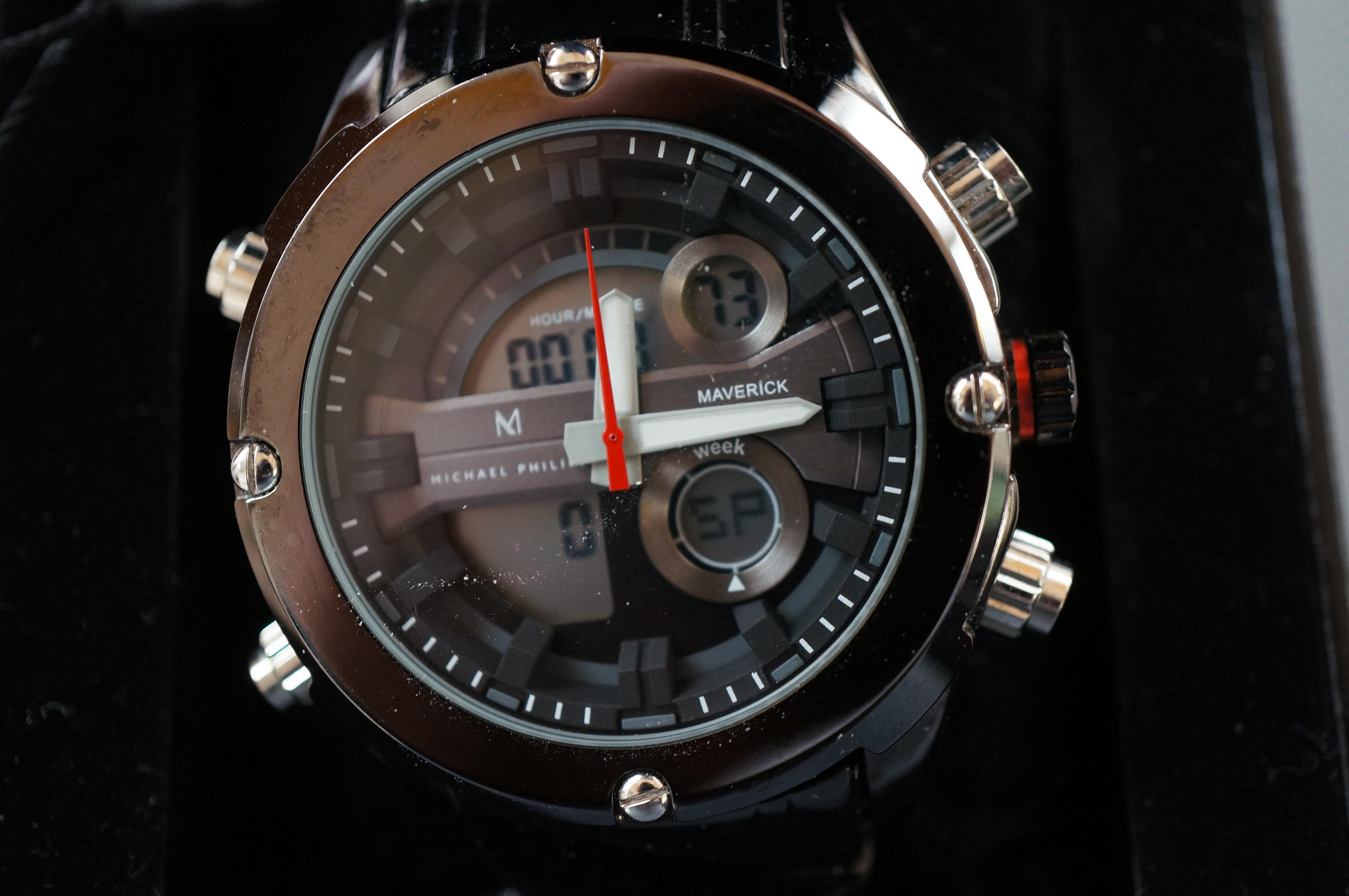 Gents Michael Phillipe Wristwatch Unused with Tags