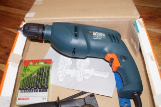 Black & Decker Corded Drill Boxed Excellent Condit