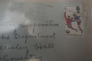 Album of First Day Covers all pre-decimal many Wor