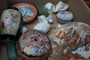 Box to include Oriental Ceramics and Others