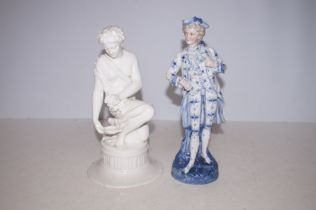 Early 20th Century Figurines, Gentleman AF and fir