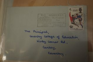 Album of First Day Covers All on Letters