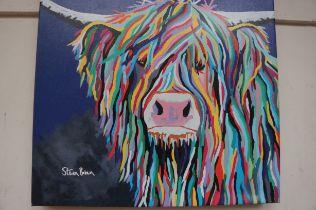Stephen Brown Wall Canvas Print