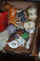 Box of Ceramics and Others to include Wedgewood