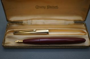 14ct Gold Nib Conway Stewart Fountain Pen in Origi