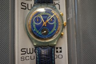 Cased Swatch Watch