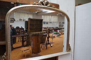 Very Large Overmantle Mirror - 110cm h x 147cm w