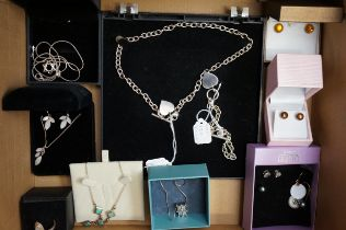 Collection of Silver Costume Jewellery
