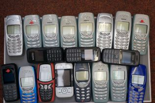 Collection of Mobile Phones