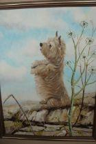 Oil on Canvas (Sheba) by Bayliss 1979 - 54cm h x 4