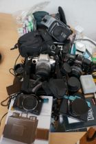 Collection of Cameras, Lenses and Others