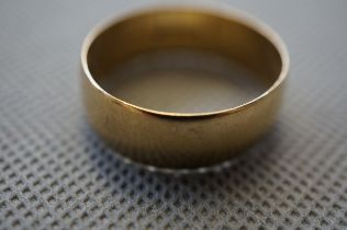 Gents 9ct Gold Wedding Band, 6.7g - Size Z