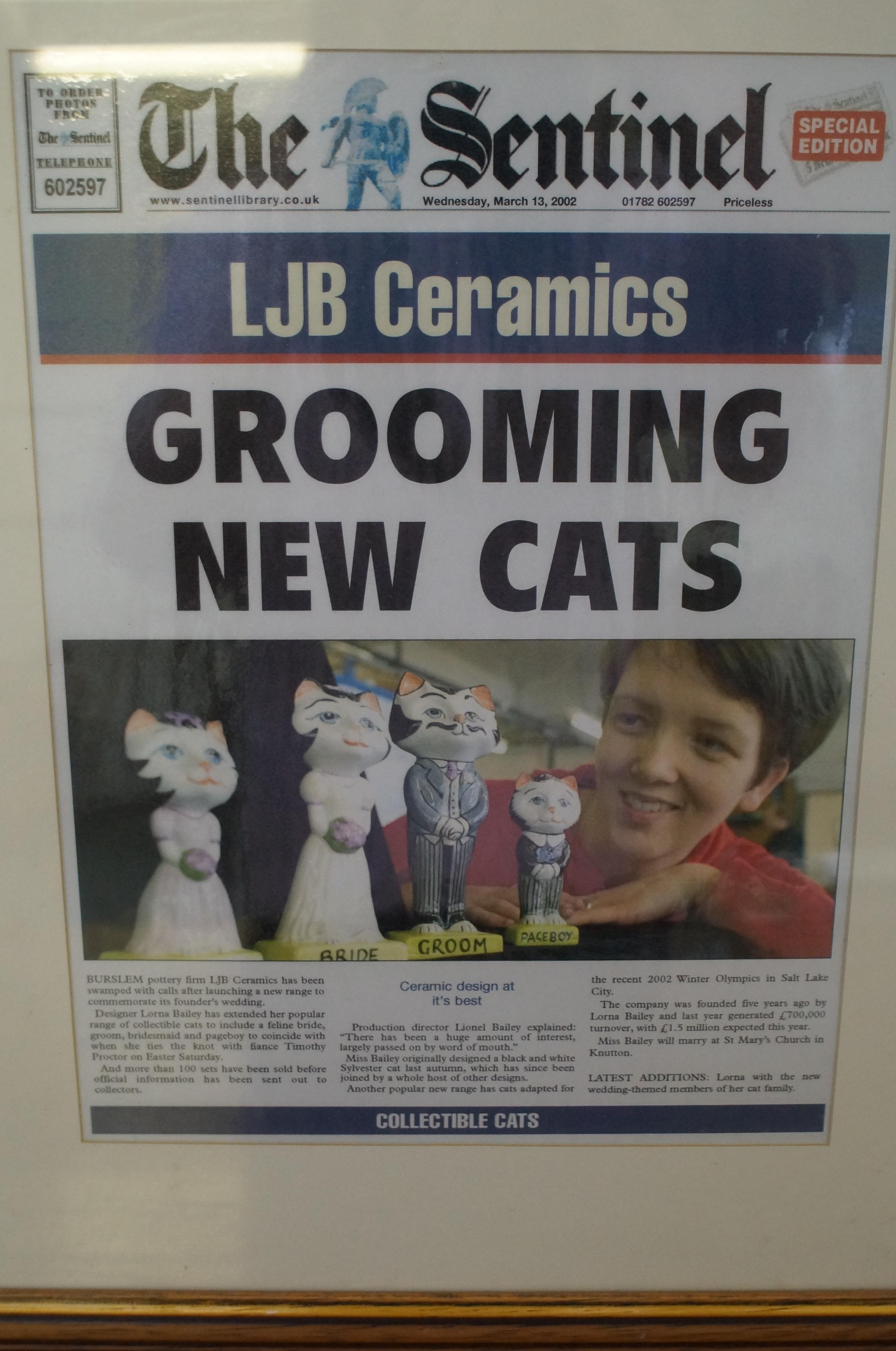 Lorna Bailey Sentinel Framed Front Page - Image 2 of 3