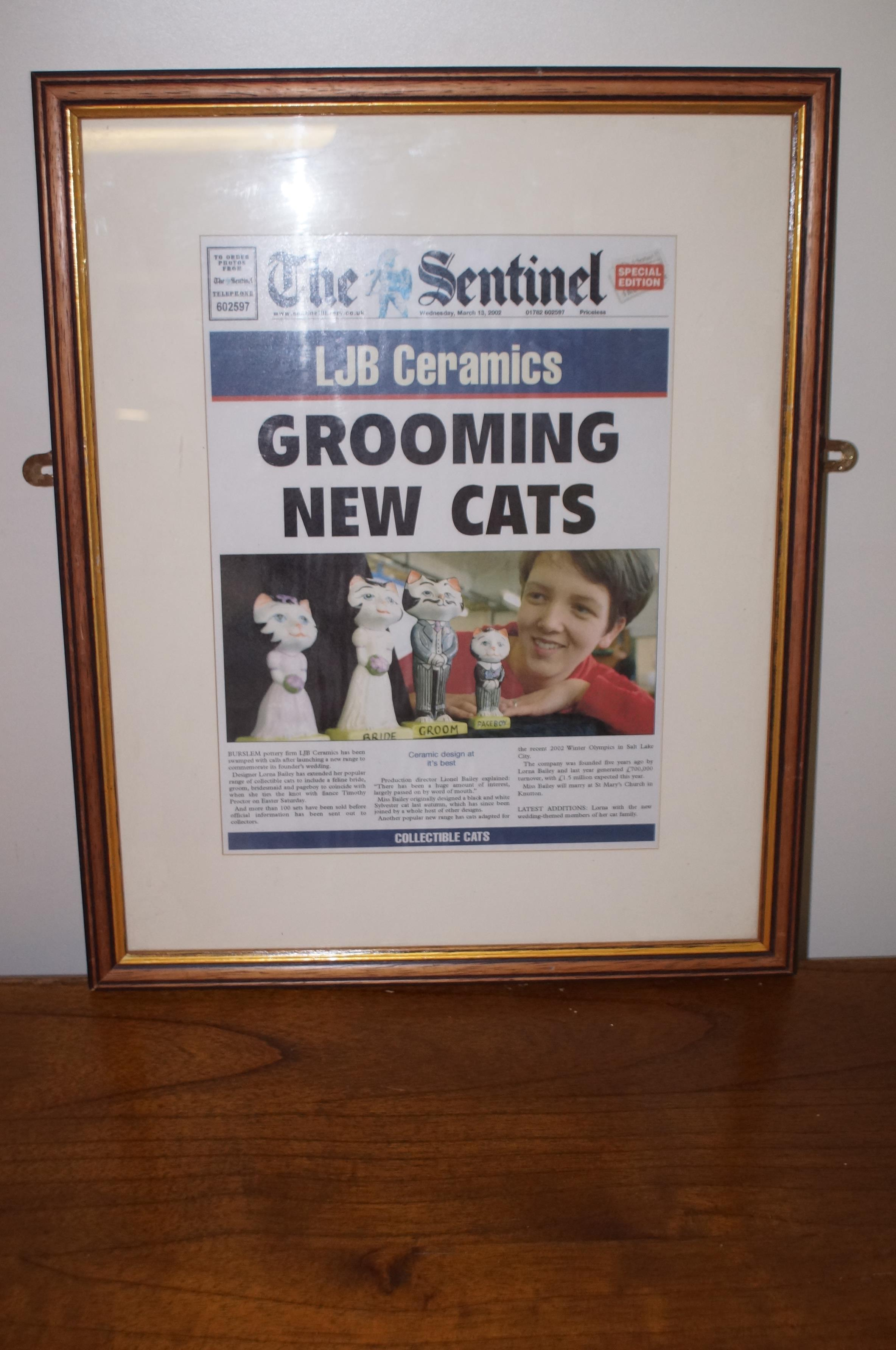 Lorna Bailey Sentinel Framed Front Page