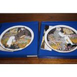 2 Boxed Royal Doulton Plaques Limited Edition 177/