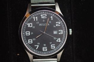 Gents Bulova Calendar Wristwatch - Boxed, Currentl
