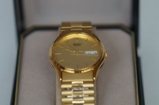 Gents Seiko Day & Date Wristwatch - Boxed, Current