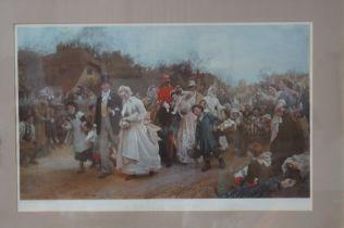 Victorian Picture 'A Village Wedding'