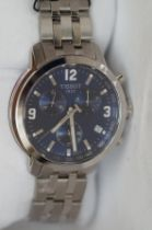 Gents Tissot Chronograph Wristwatch - Boxed, Curre