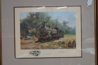 Limited Edition Signed Print by David Shephard 'Th