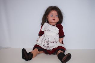 Unmarked English Pot Doll