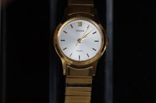 Ladies Pulsar Wristwatch - Boxed, Currently Tickin