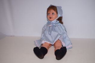 Frank Popper Pot Doll English 1940s - 20in