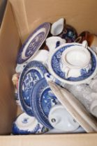 Box of ceramics