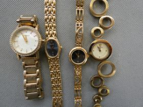 Collection of ladies fashion watches