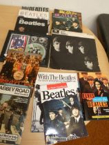 Collection of Beatles books to include With The Be