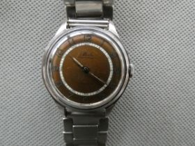 Vintage Mido gents wristwatch, currently ticking