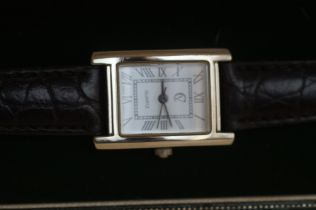 Silver ladies wristwatch