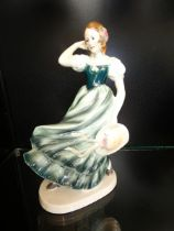 Early 20th century figurine, possibly German (Some