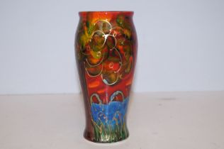 Anita Harris deco tree vase signed in gold