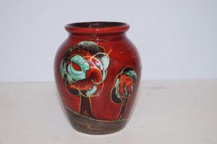 Anita Harris pumpkin vase