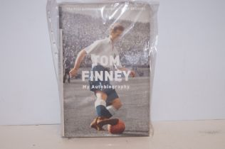 Tom Finney My autobiography signed copy