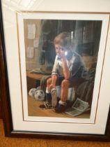 Leighton Jones limited edition print 191/375 Agony