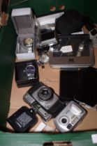 Box of electricals to include 4x mobile phones, ca