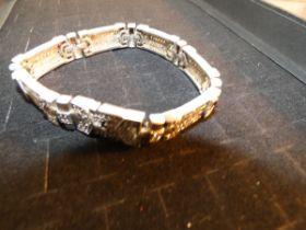 Silver bracelet Weight 49.7