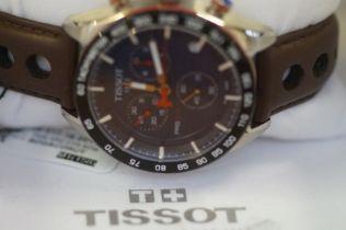 Gents Tissot chronograph wristwatch As new