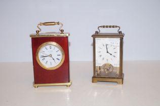 2x Mantle clocks