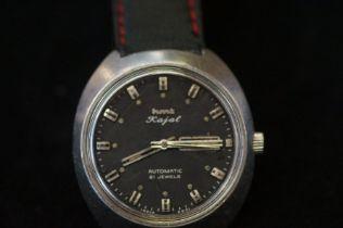 Gents automatic wristwatch